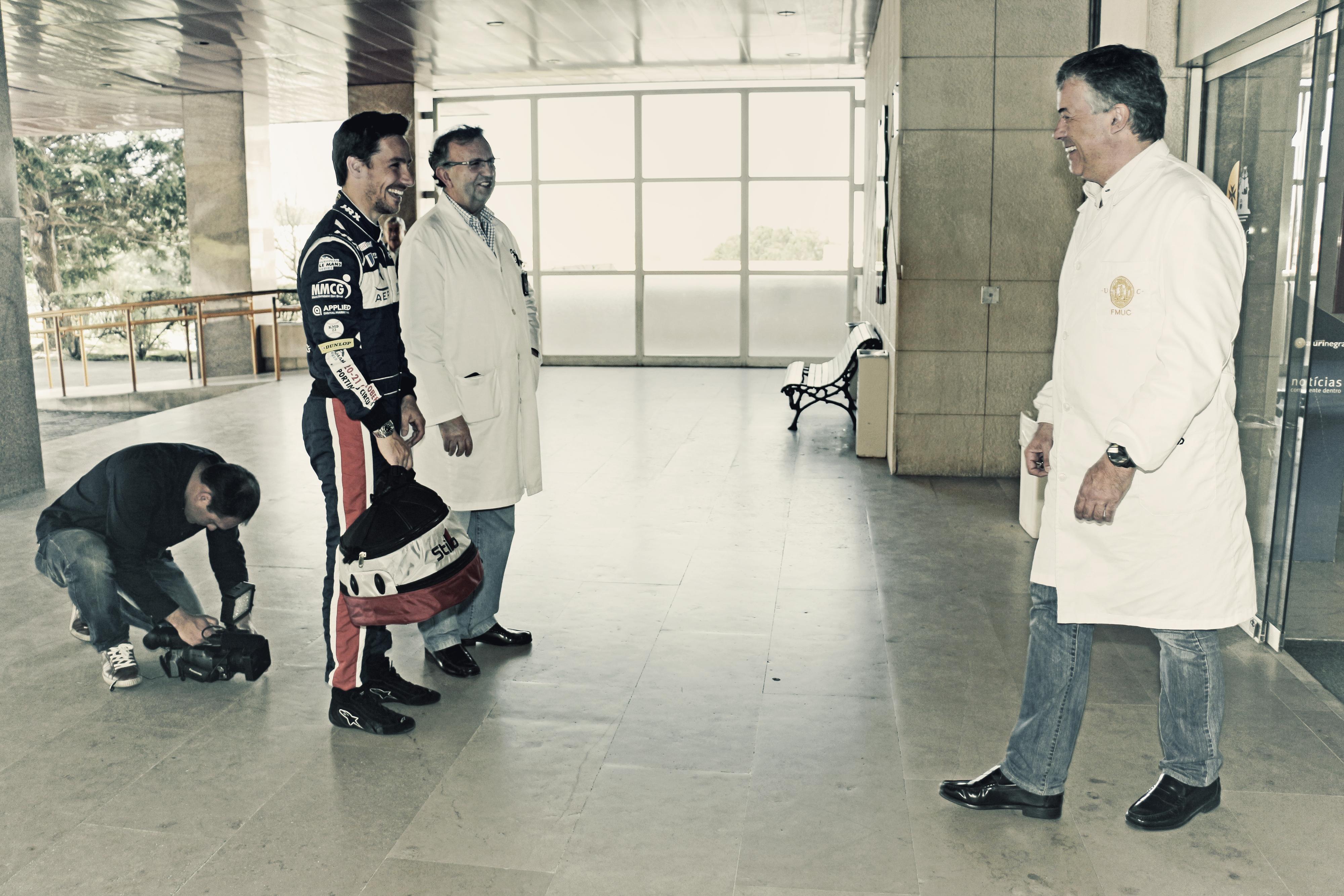 """Filipe Albuquerque I Embaixador do """"Projeto H2 – Humanizar o Hospital I CHUC"""""""